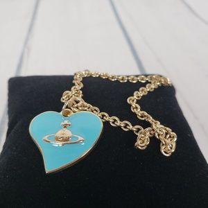 Vivian Westwood Fragrances Heart Charm Bracelet